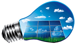 Solar PV Bulb